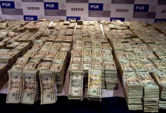 Обыск колумбийской мафии. Скромная кладовка