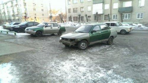 Смешная подборка автомобильных приколов