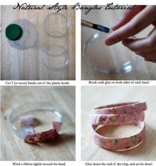 Необычные поделки из пластиковых бутылок