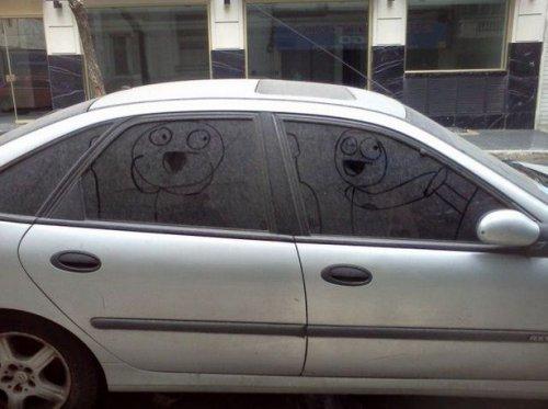 Прикольные картинки про авто. Весёлая подборка