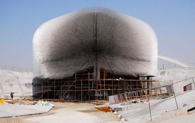 Красивый британский выставочный комплекс