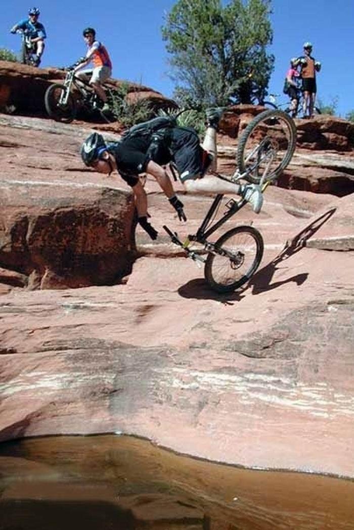 Горе-велосипедисты. Эпичные фейлы
