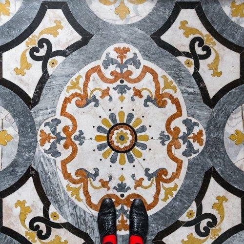 Венецианские полы в проекте Себастьяна Ерраса