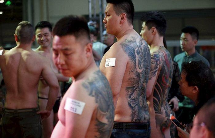 Фестиваль татуировок в Сочи и Шанхае. Красивые рисунки на теле