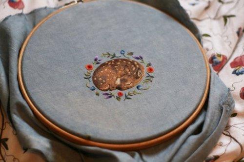 Креативная вышивка. Красивые примеры