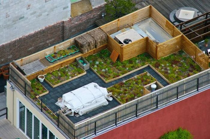 Шикарные крыши домов. Красивые фото