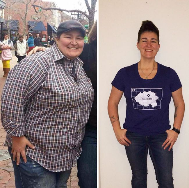 Люди, которые победили лишний вес. Фотографии успеха