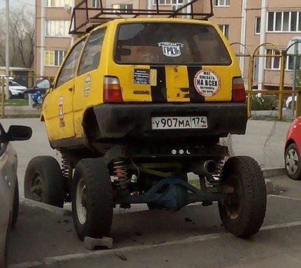 Порция автомобильных приколов. Свежие автомобильные картинки