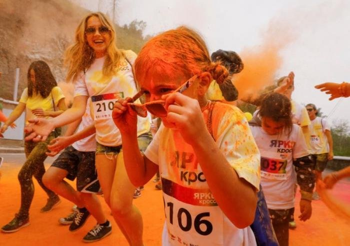 Благотворительный марафон в Казахстане
