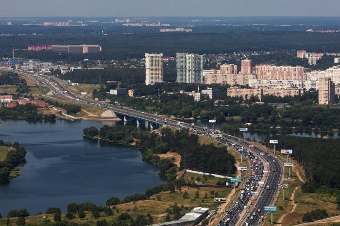 Красивые панорамы Москвы. Путешествия