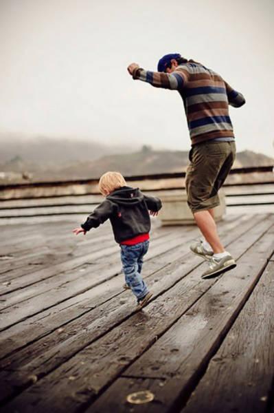 Прикольные картинки про детей, похожих на своих отцов
