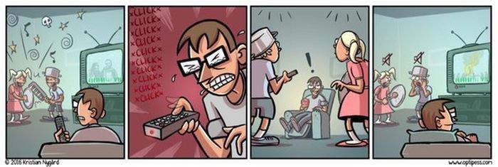 Заряд позитива из свежих комиксов. Смешная подборка