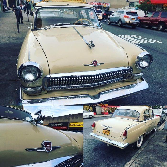 Наши люди в Америке - сходка на русских автомобилях