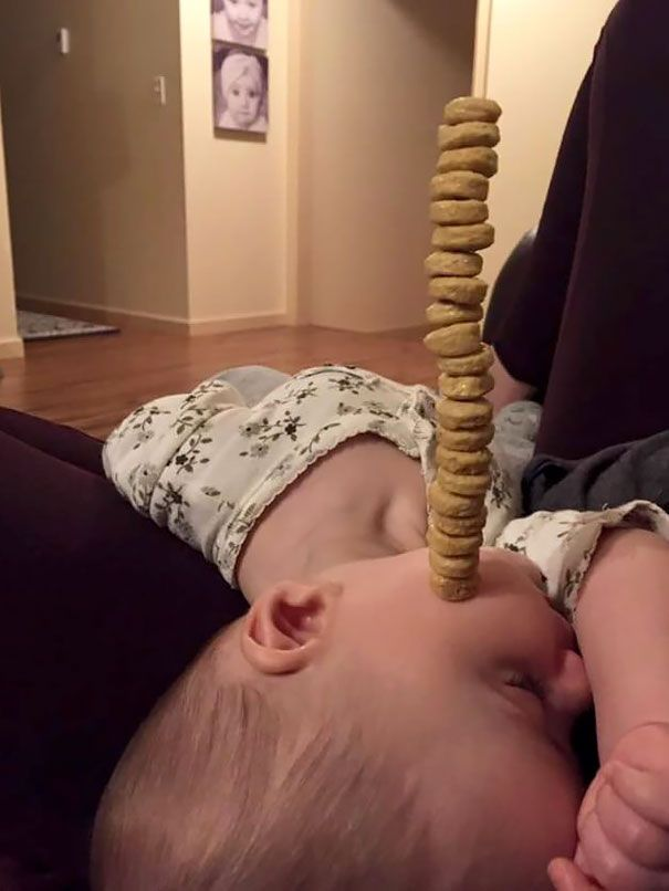 Необычные развлечения пап маленьких детей
