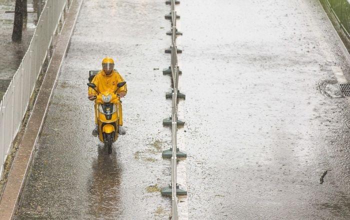 Сильные ливни в Китае. Ужасная стихия