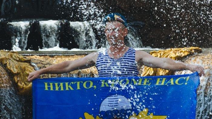 Фотоотчёт со дня ВДВ. Десантура в Москве