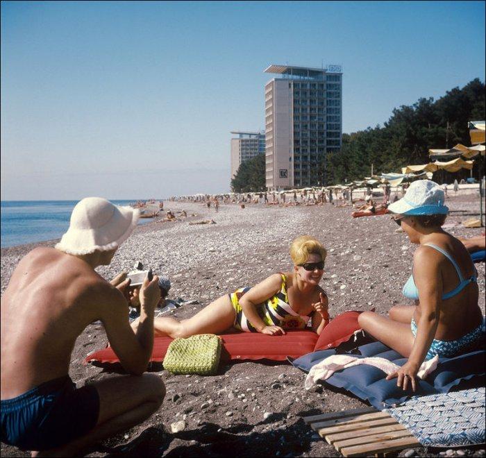 Отдых в Советском Союзе. Интересные фото