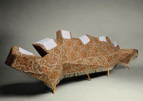 Подборка фото самых необычных диванов