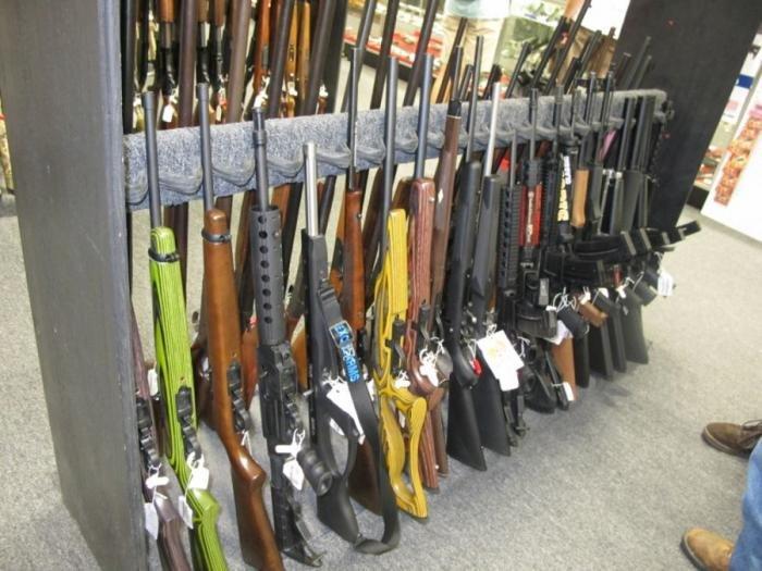 Красивые фотографии из оружейного магазина