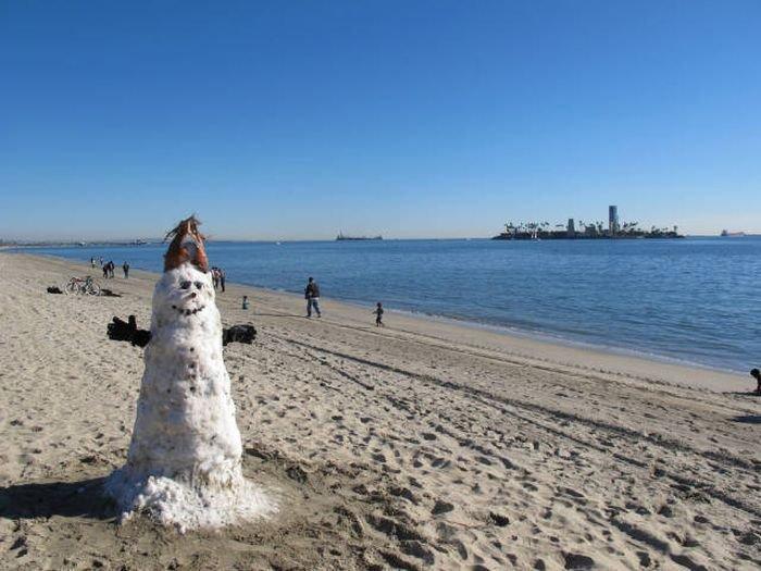 Пляжные приколы со всего мира. Путешествия