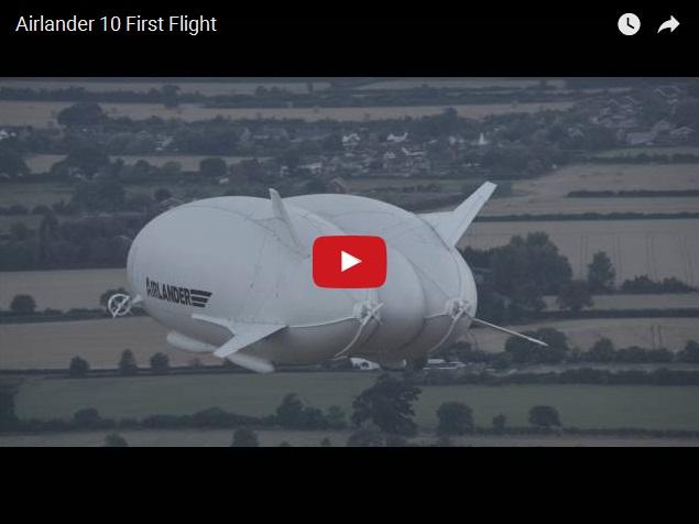 В Великобритании подняли в небо самый большой летательный аппарат в мире
