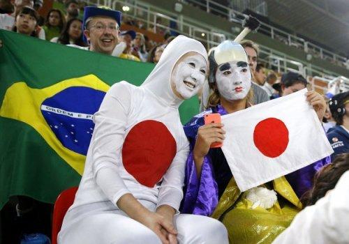 Болельщики на олимпиаде в Рио
