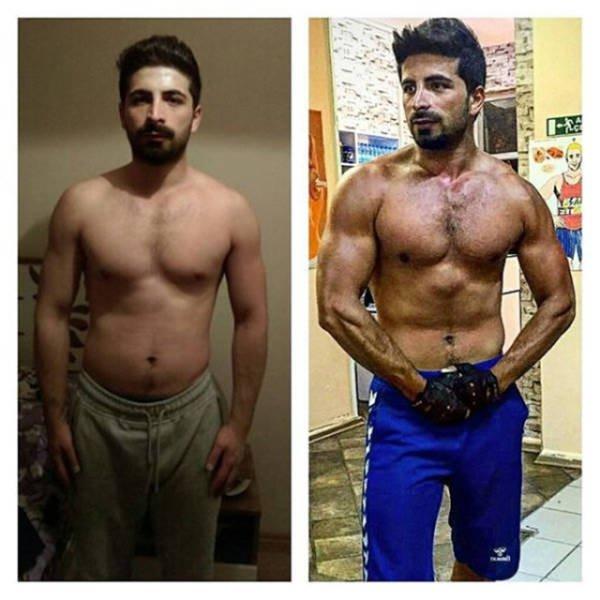 Они справились: до и после. Похудеть реально!