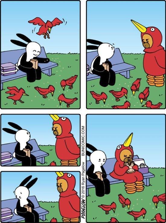 Весёлые комиксы в подборке. Свежие приколы