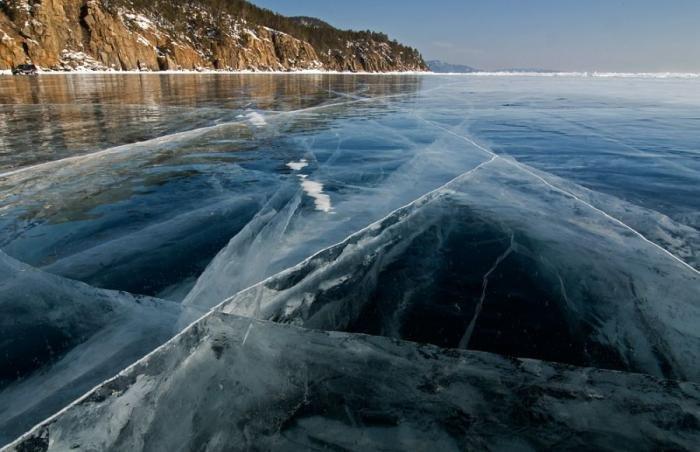 Красоты России: озеро Байкал