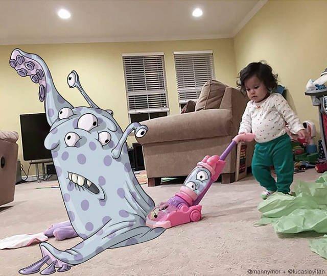 Креативные картины Лукаса Левитана. Красивые картинки