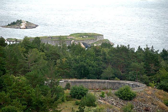 Береговой охранный пункт в Норвегии времён Второй Мировой