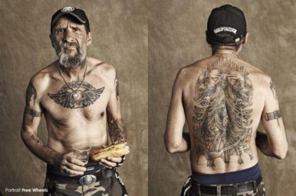 Фотографии настоящих байкеров