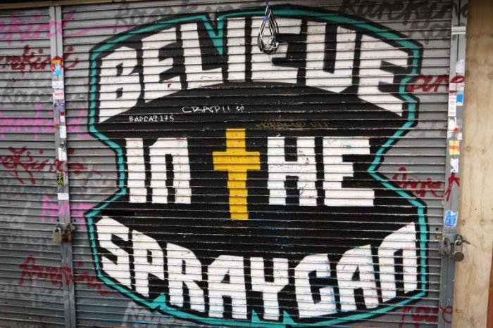 Граффити как культура Лондона