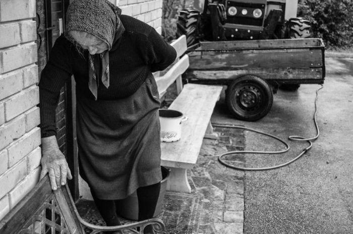 Один день из жизни одной пожилой фермерши