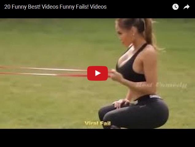 20-ка самых смешных фейлов и неудач