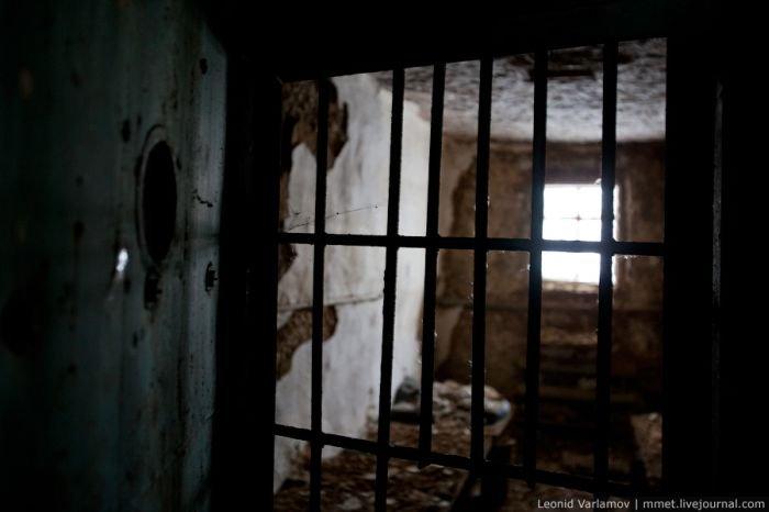 Заброшенная тюрьма в Перми