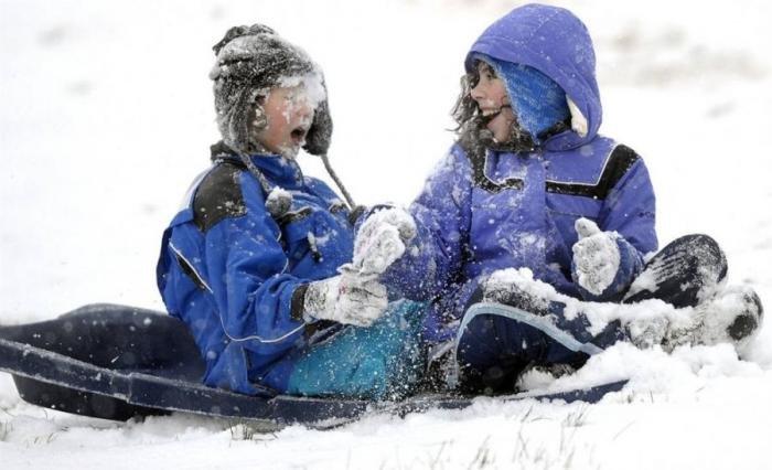 Настоящая суровая русская зима. Красивые картинки