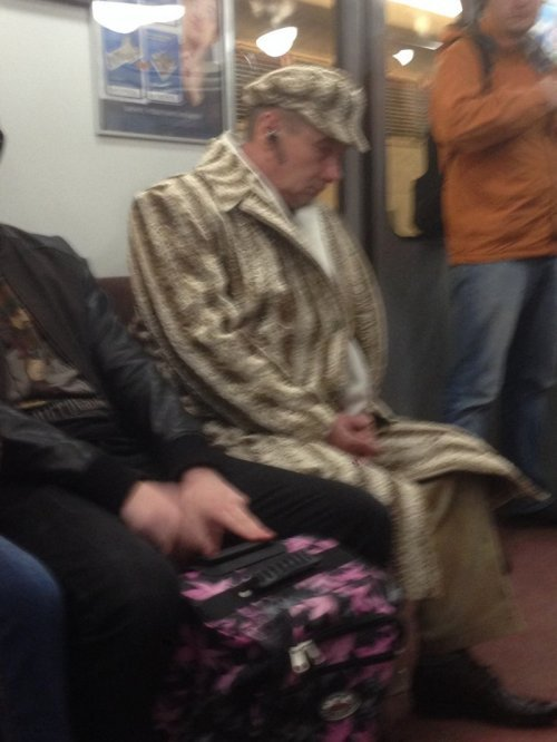 Мода в метро. Смешные фотки