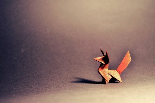 Красивые оригами из одного листа. Интересные фото