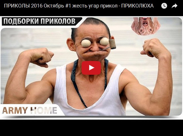 Свежий сборник прикольного видео за октябрь