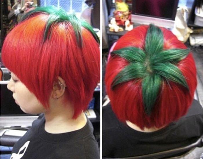 Подборка безумных причёсок. Прикольные фото