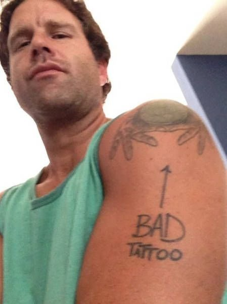 Странные татуировки в подборке фото. Рисунки на теле