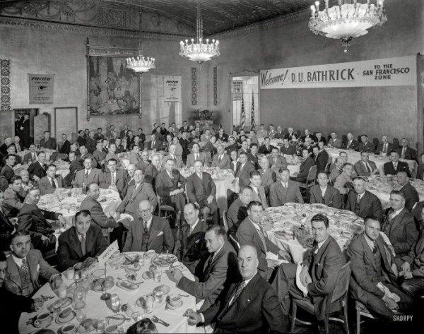Американские кафе 1940-х годов. Путешествия