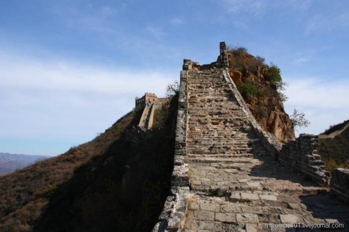 Великая Китайская стена. Интересные фотографии