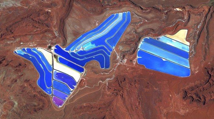 Как человек меняет Землю? Фото из космоса