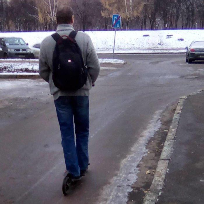 Какой снег? - Прикольные фото людей