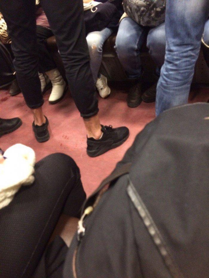 Очередная подборка модников из метро