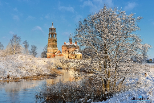 Красивые фото России зимой