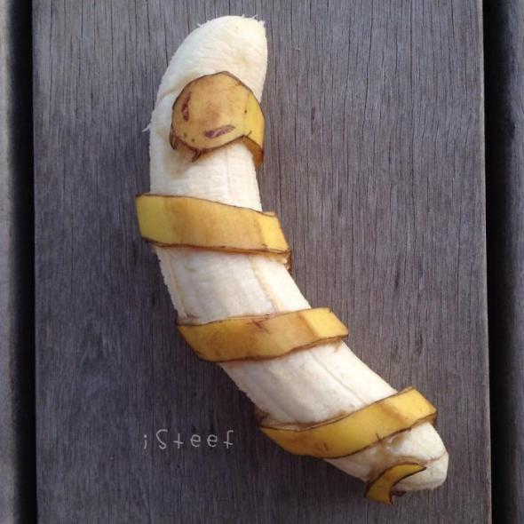 Бананы, как предмет искусства. Красивые картинки
