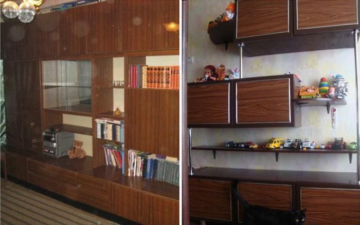 Как переделать старую советскую мебель. Поразительная разница